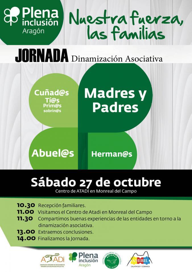 Jornada de Dinamización asociativa en Monreal del Campo.