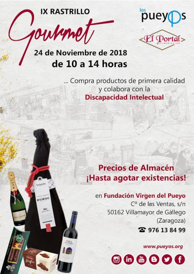 IX Rastrillo Gourmet Solidario Los Pueyos
