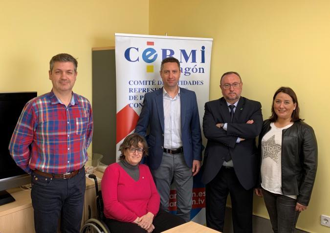 Nueva junta directiva de CERMI Aragón