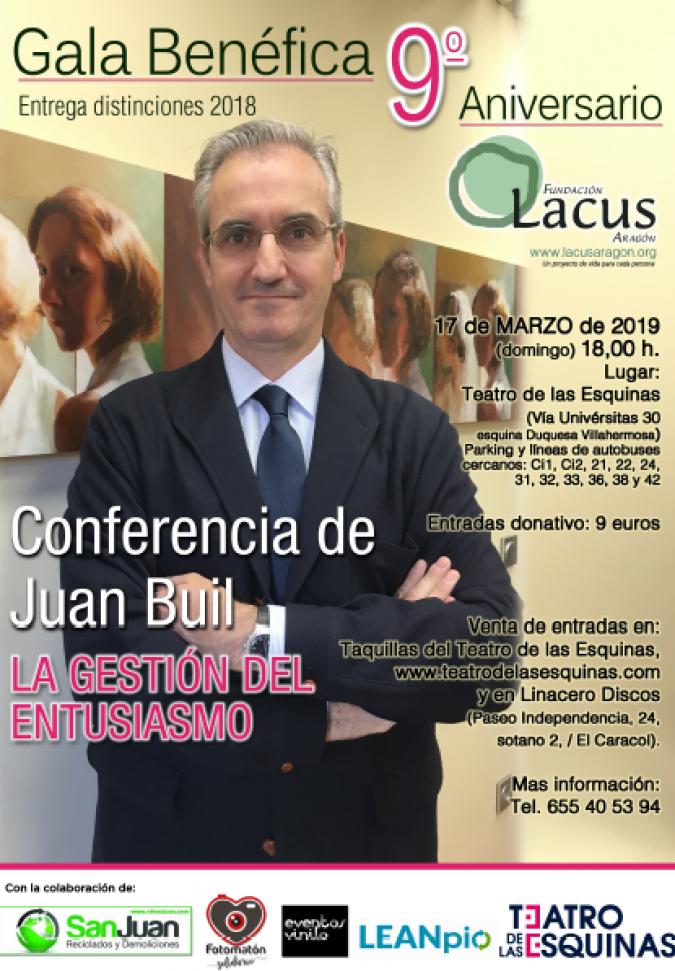 cartel gala 9 aniversario lacus