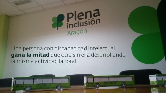 Reivindicamos mayores oportunidades de empleo para las personas con discapacidad intelectual a través de la Campaña TodoAl27