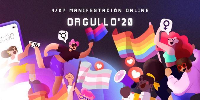 Imagen del Orgullo LGTB 2020