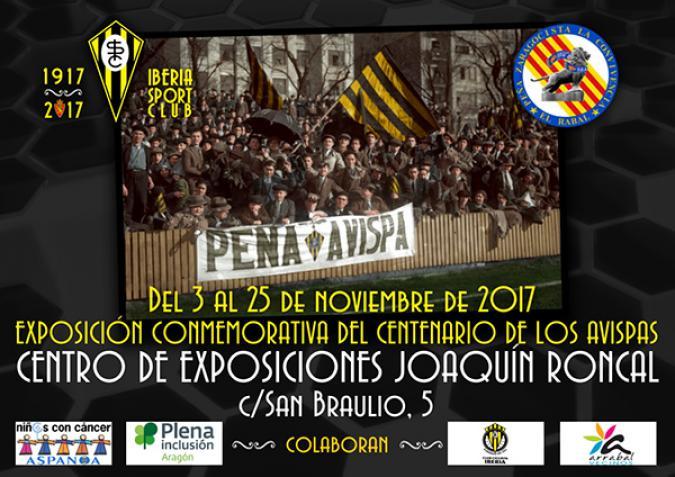 INAUGURACIÓN DE LA EXPOSICIÓN CENTENARIO DE LOS AVISPAS. 1917-2017 IBERIA SPORT CLUB