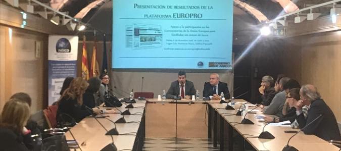 """Cruz Blanca, ATADI y Plena Inclusión Aragón, ganadoras del concurso del Gobierno de Aragón """"Una idea, un proyecto"""" para acceder a programas europeos"""