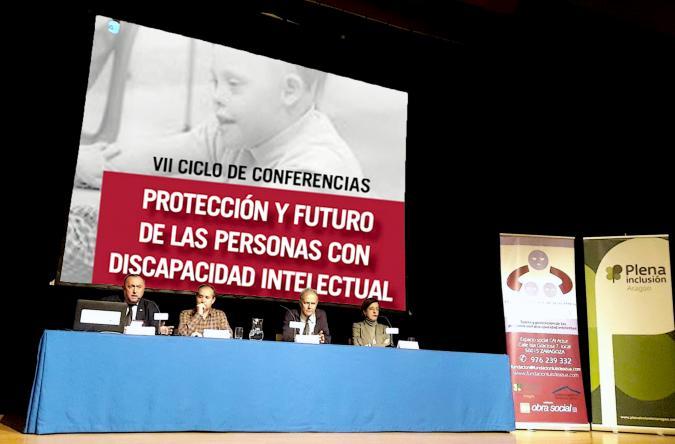 VII Ciclo de Conferencias Protección y futuro de las personas con discapacidad intelectual o del desarrollo