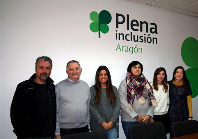 Nace la Red de Comunicación de Entidades de Plena inclusión Aragón