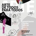 El arte creado por personas con discapacidad llega al Campus de Teruel