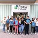 profesionales y usuarios en el centro de formación de Plena inclusión Aragón