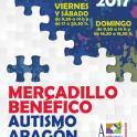 Autismo Aragón inaugura el viernes su Mercadillo benéfico