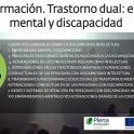 Curso de formación: Trastorno dual: enfermedad mental y discapacidad
