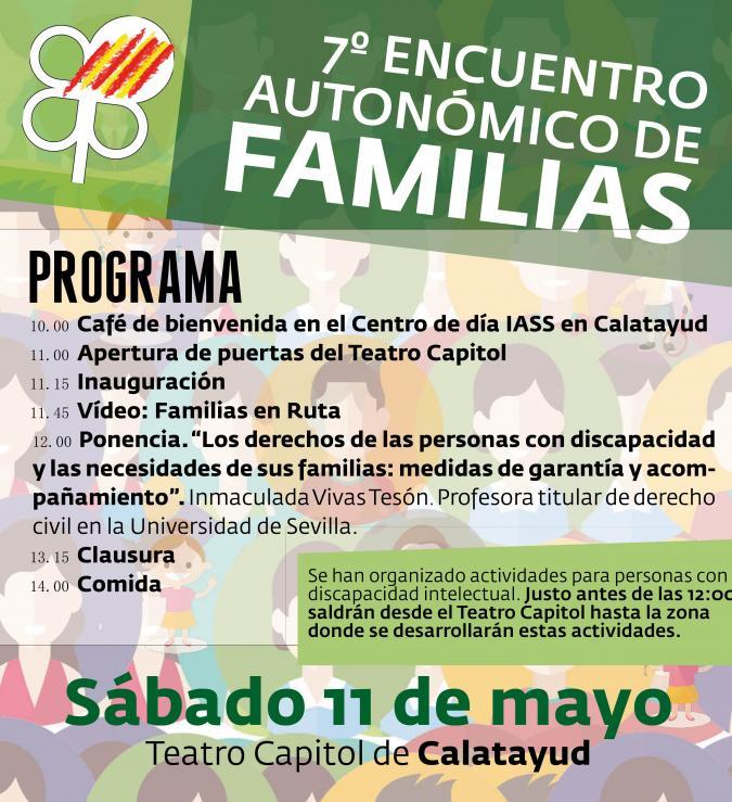 7º Encuentro Autonómico de Familias.