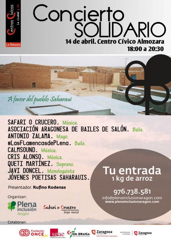 Festival solidario a favor del pueblo saharaui