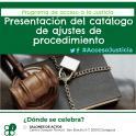 Se presenta en Zaragoza el catálogo de ajustes de procedimiento