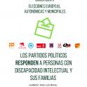 Plena inclusión Aragón celebra un encuentro en el quelos candidatos a las elecciones municipales, autonómicas y europeas queexplicarán sus propuestas a personas con discapacidad intelectual y sus familias