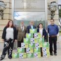 Plena inclusión entrega en Moncloa 25.000 firmas de familiares de personas con discapacidad intelectual que reivindican una mejora de sus condiciones de vida